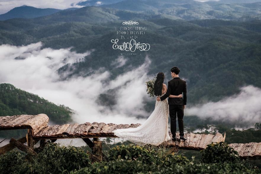 """""""Săn mây trên đỉnh Cầu Đất cùng cặp đôi yêu Boho Wedding Style - Ảnh 2."""