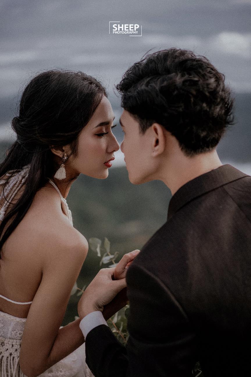 """""""Săn mây trên đỉnh Cầu Đất cùng cặp đôi yêu Boho Wedding Style - Ảnh 3."""