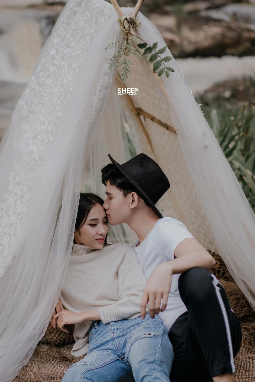 """""""Săn mây trên đỉnh Cầu Đất cùng cặp đôi yêu Boho Wedding Style - Ảnh 5."""