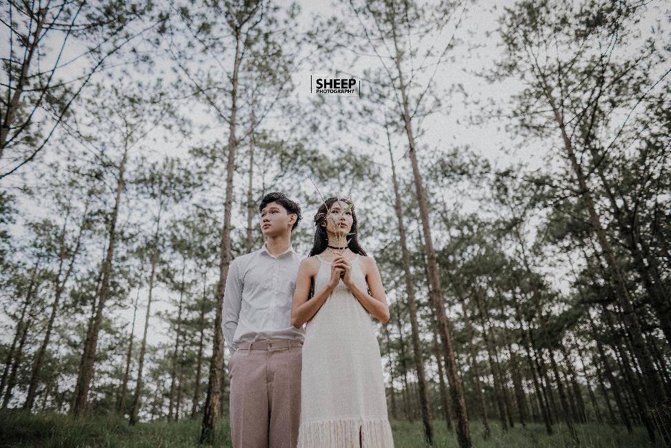 """""""Săn mây trên đỉnh Cầu Đất cùng cặp đôi yêu Boho Wedding Style - Ảnh 8."""