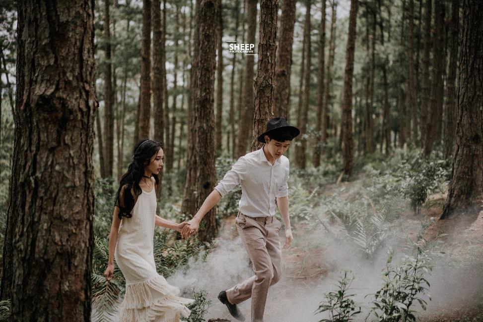 """""""Săn mây trên đỉnh Cầu Đất cùng cặp đôi yêu Boho Wedding Style - Ảnh 9."""