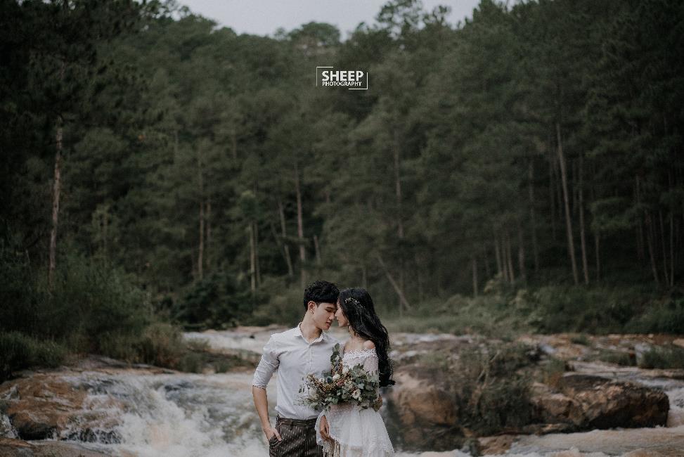"""""""Săn mây trên đỉnh Cầu Đất cùng cặp đôi yêu Boho Wedding Style - Ảnh 10."""