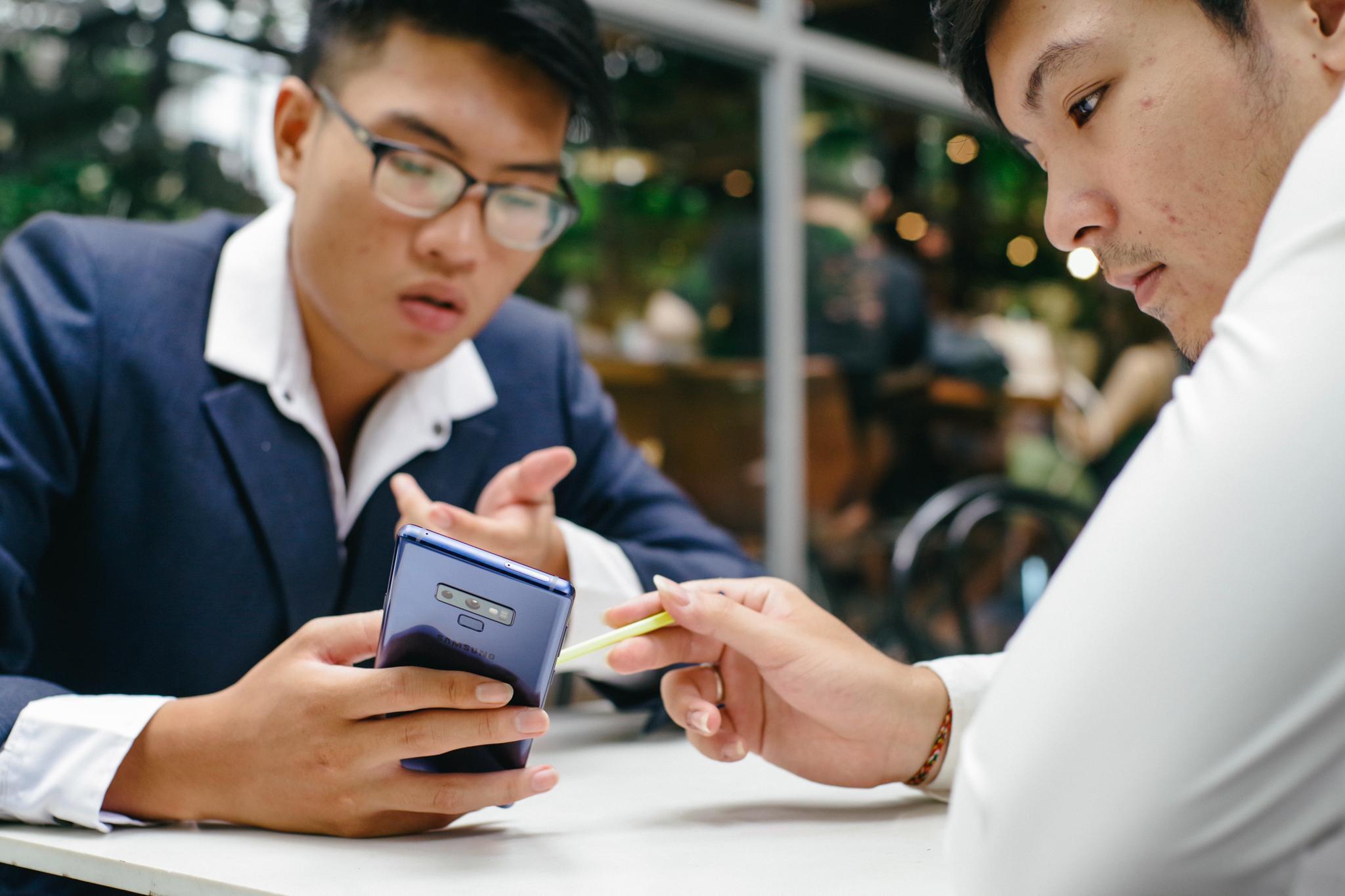 Không chỉ là điện thoại, Galaxy Note9 còn là công cụ tuyệt vời cho chàng trai này kiếm tiền hàng ngày - Ảnh 13.