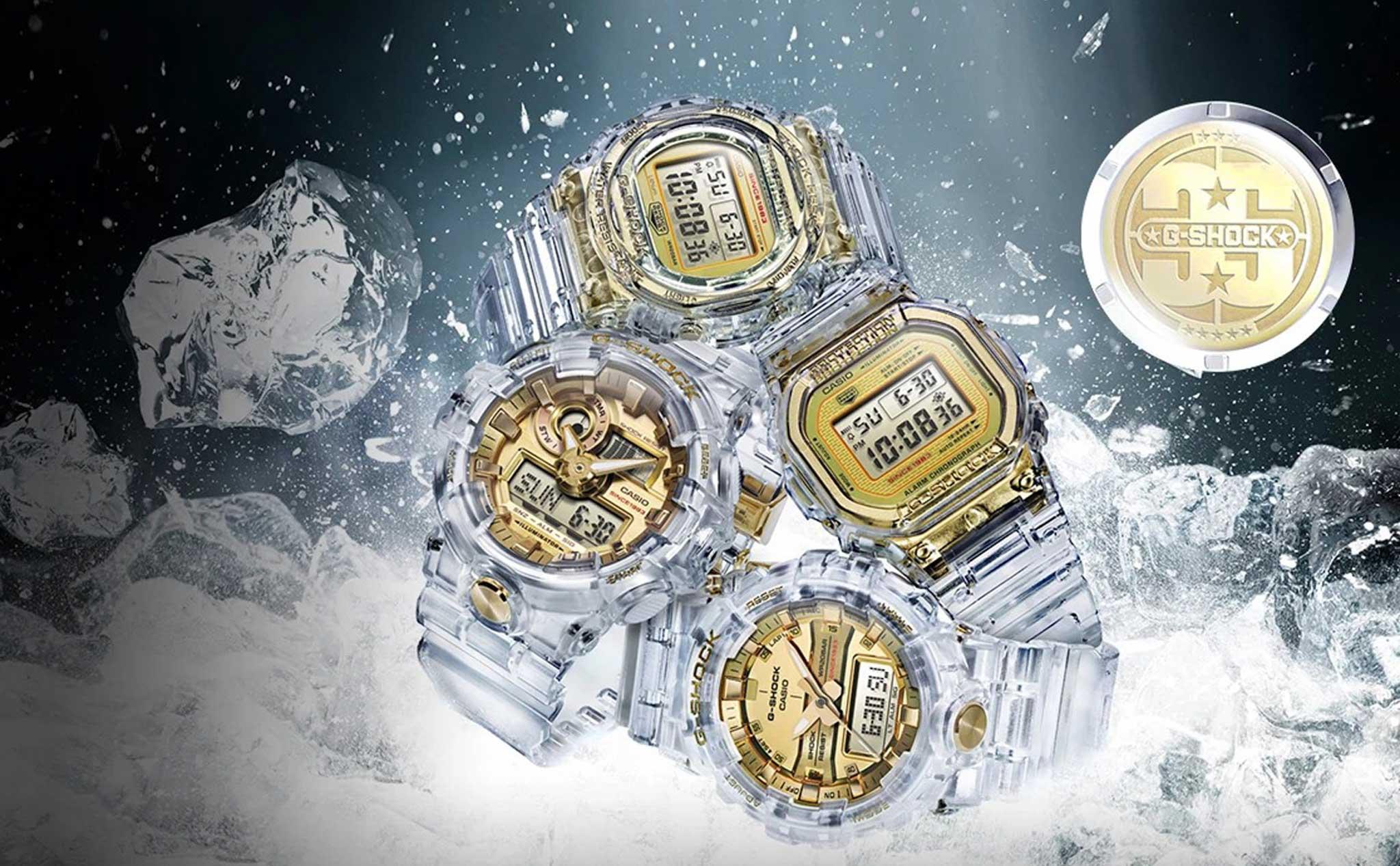 Casio ra mắt bộ sưu tậpG-Shock Limited Glacier Goldthời trang - sành điệu - ấn tượng - Ảnh 2.