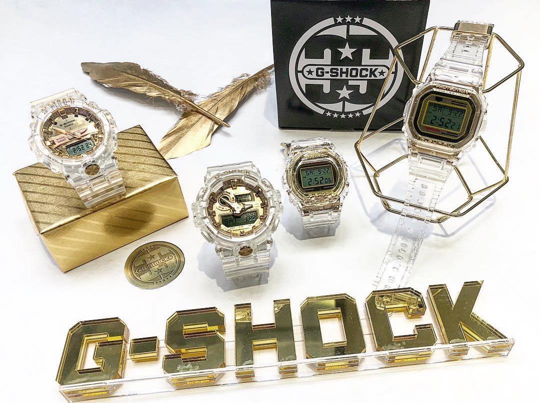 Casio ra mắt bộ sưu tậpG-Shock Limited Glacier Goldthời trang - sành điệu - ấn tượng - Ảnh 3.