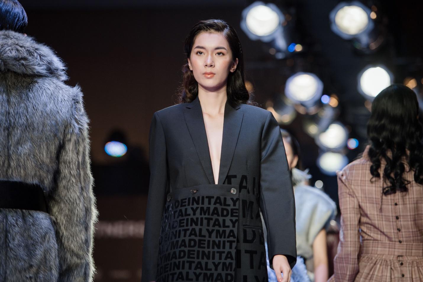 Ekip của chuyên gia trang điểm nổi tiếng Tina Lê tiếp tục đồng hành cùng VIFW Thu – Đông 2018 - Ảnh 2.