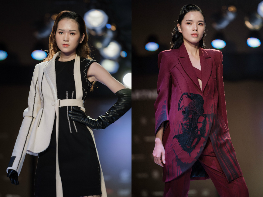 Ekip của chuyên gia trang điểm nổi tiếng Tina Lê tiếp tục đồng hành cùng VIFW Thu – Đông 2018 - Ảnh 3.