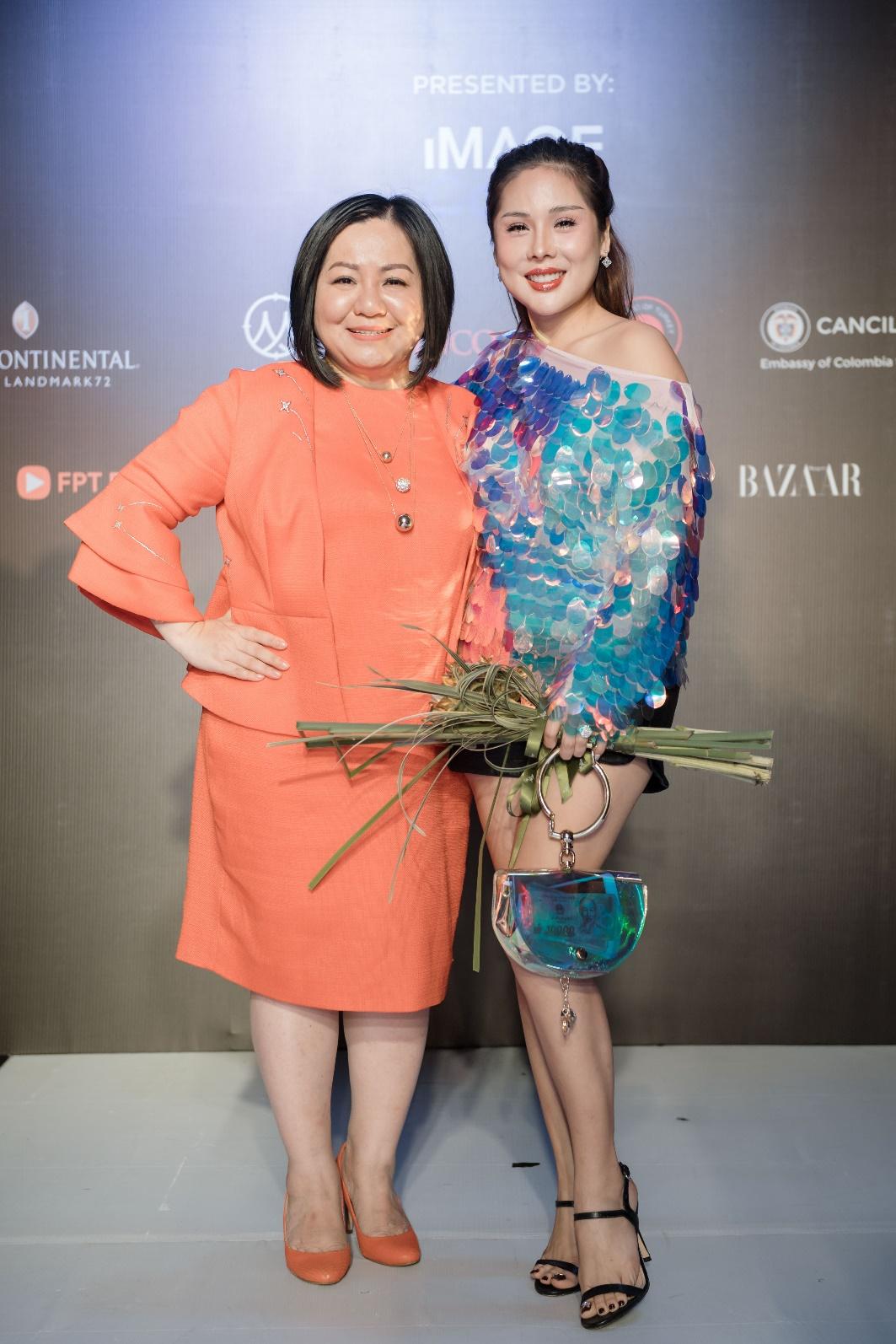 Ekip của chuyên gia trang điểm nổi tiếng Tina Lê tiếp tục đồng hành cùng VIFW Thu – Đông 2018 - Ảnh 8.