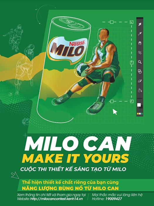 MILO - Cuộc thi thiết kế MILO Can Make It Yours khiến 10X bấn loạn