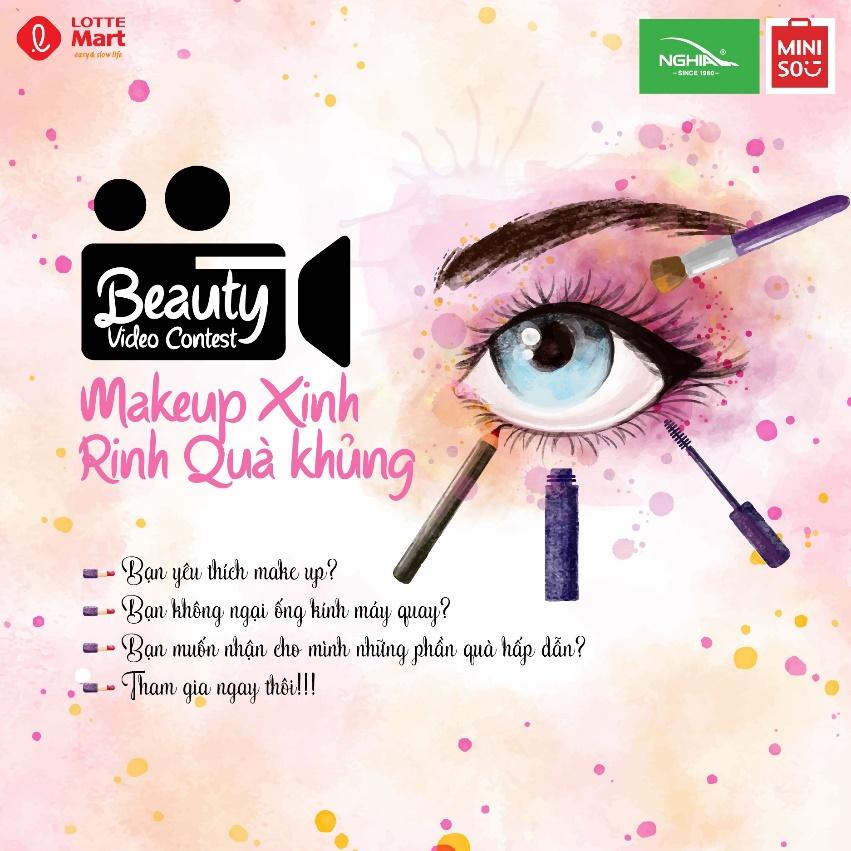 Cùng Lotte Mart make up xinh – Rinh quà khủng - Ảnh 2.