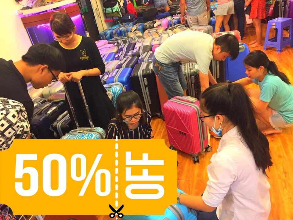 T.H.A Store tung khuyến mãi cực sốc cho vali du lịch, giá chỉ 350k - Ảnh 4.