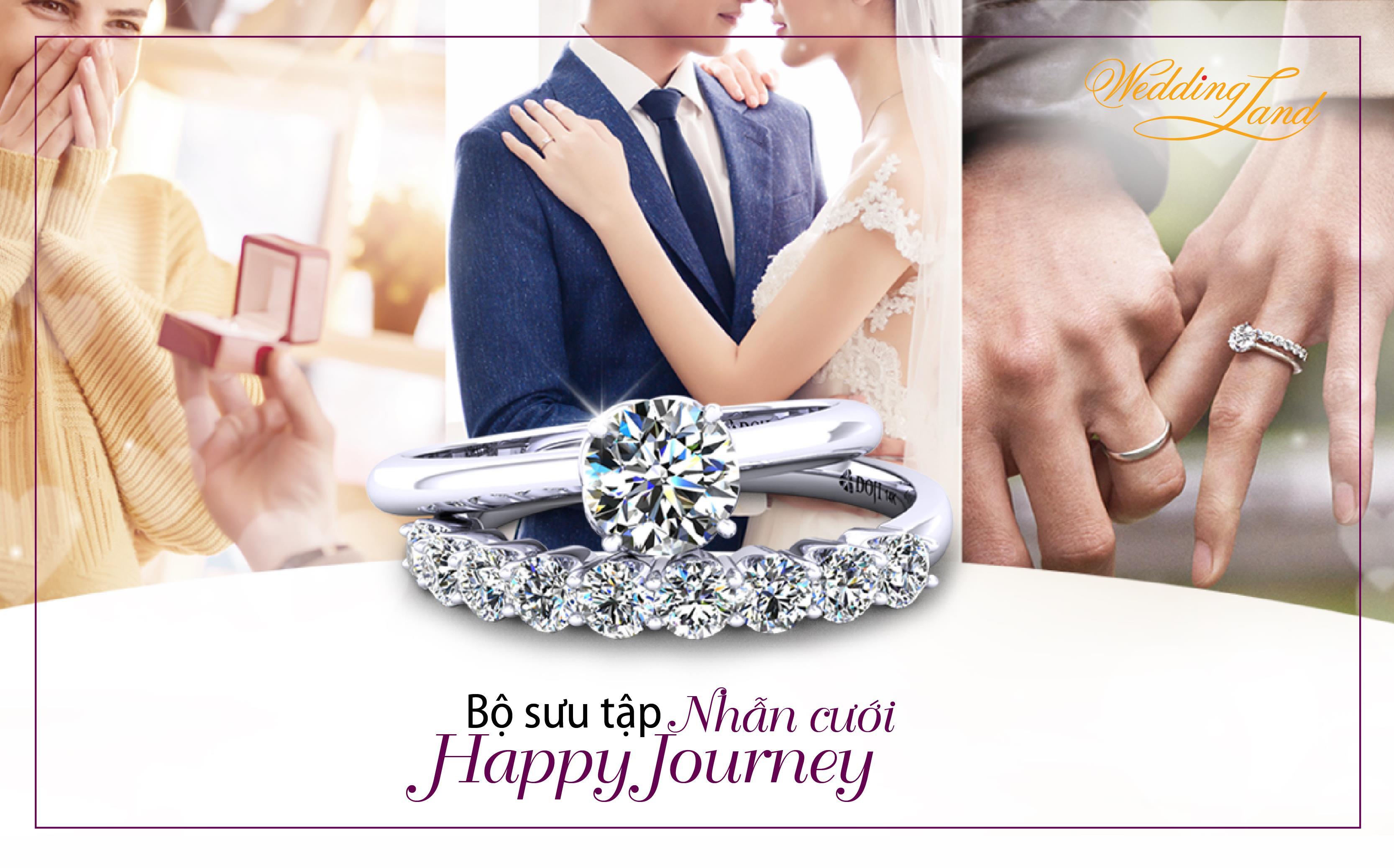Nhẫn cưới DOJI, cùng uyên ương xây hành trình hạnh phúc - Ảnh 1.