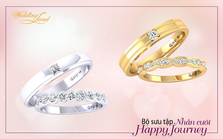 Nhẫn cưới DOJI, cùng uyên ương xây hành trình hạnh phúc - Ảnh 2.