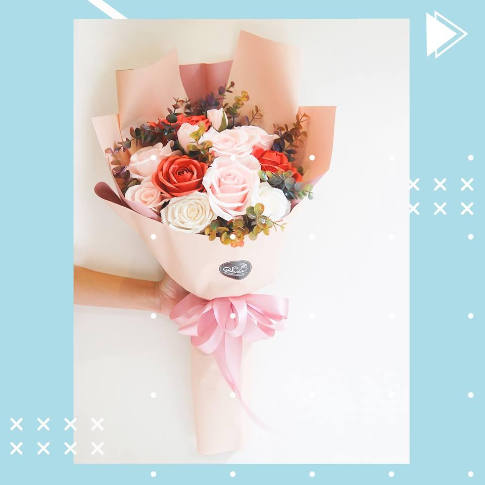 Hoa giấy Suchin: Hô biến giấy thành hoa, xu hướng quà tặng và trang trí mới không thể bỏ qua - Ảnh 2.