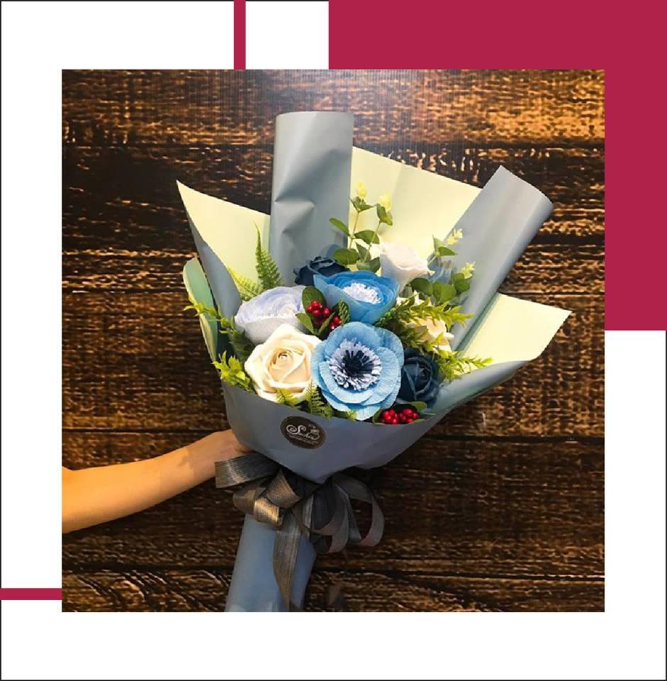 Hoa giấy Suchin: Hô biến giấy thành hoa, xu hướng quà tặng và trang trí mới không thể bỏ qua - Ảnh 3.