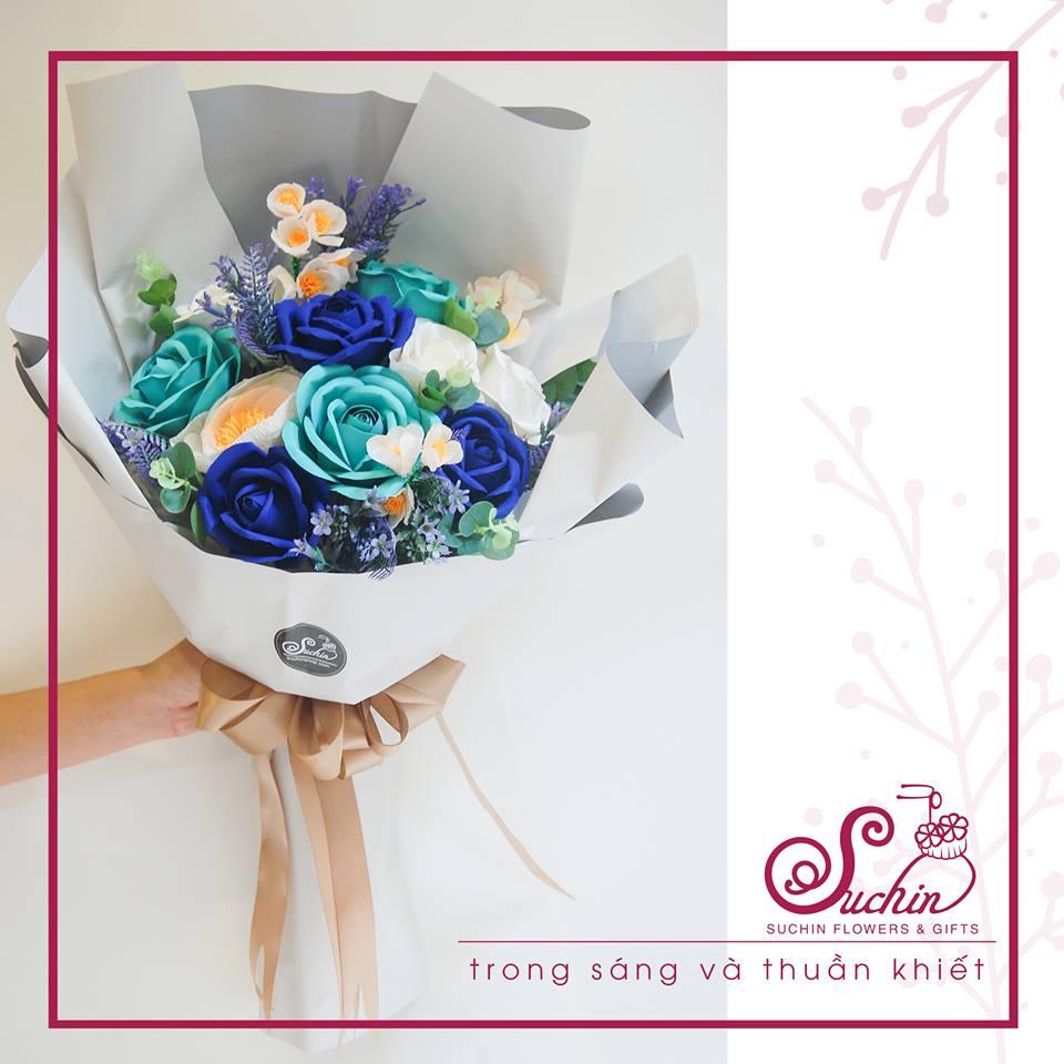 Hoa giấy Suchin: Hô biến giấy thành hoa, xu hướng quà tặng và trang trí mới không thể bỏ qua - Ảnh 4.