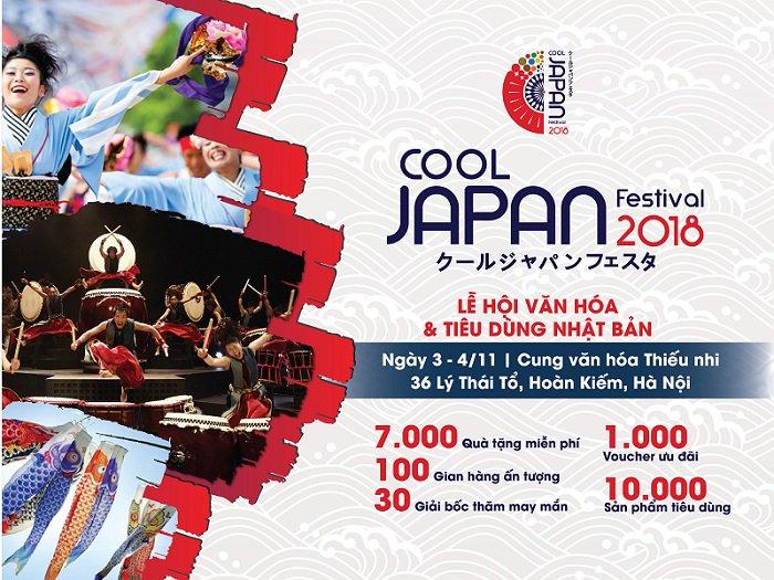 """Bật mí chốn vui chơi và """"sống ảo"""" lý tưởng cho giới trẻ tháng 11 – Cool  Japan Festival 2018"""