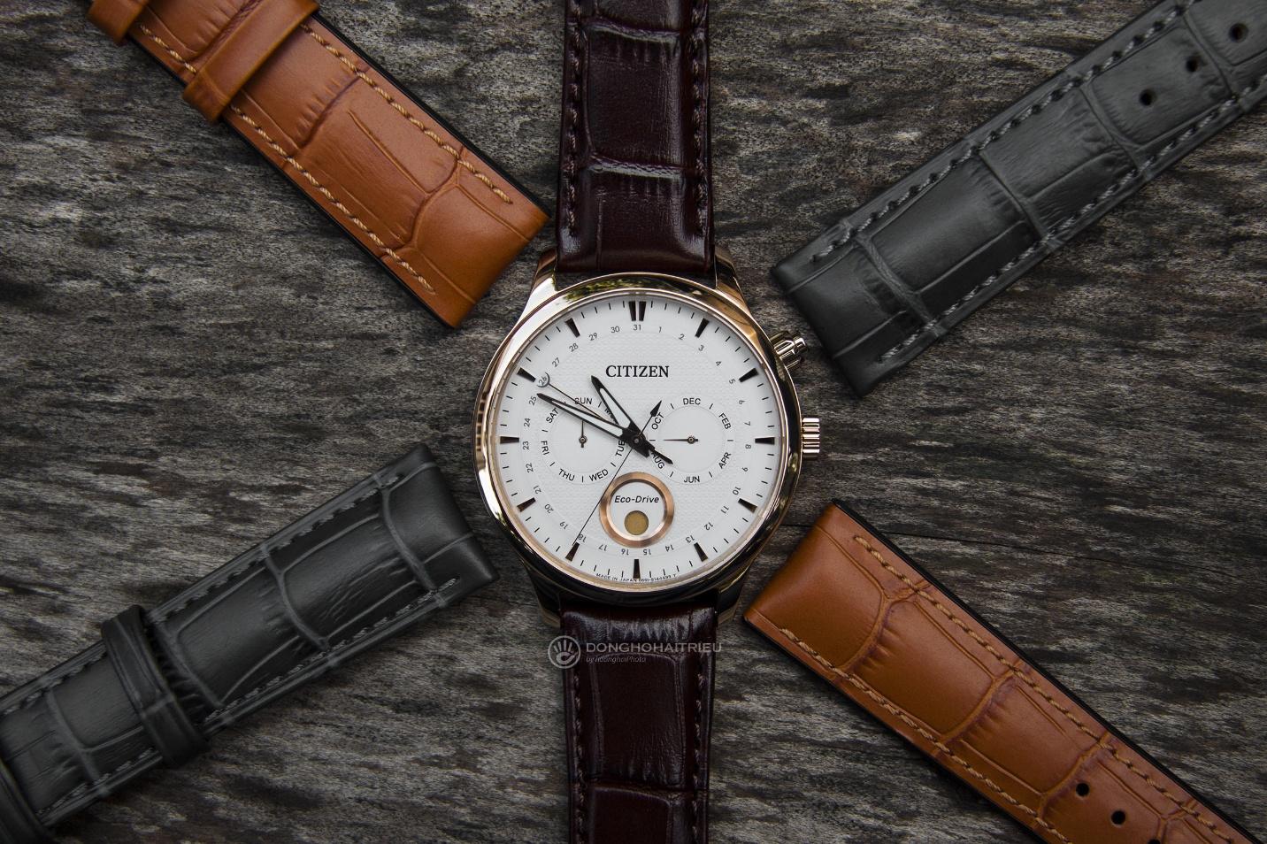 Bộ sưu tập dây da được các thương hiệu đồng hồ nổi tiếng thế giới ưa chuộng - Ảnh 9.
