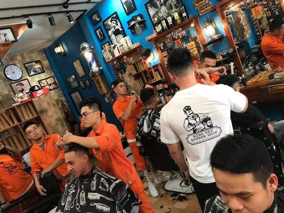 Đông Tây Barbershop – Tiệm cắt tóc cực chất tại Sài Gòn - Ảnh 6.