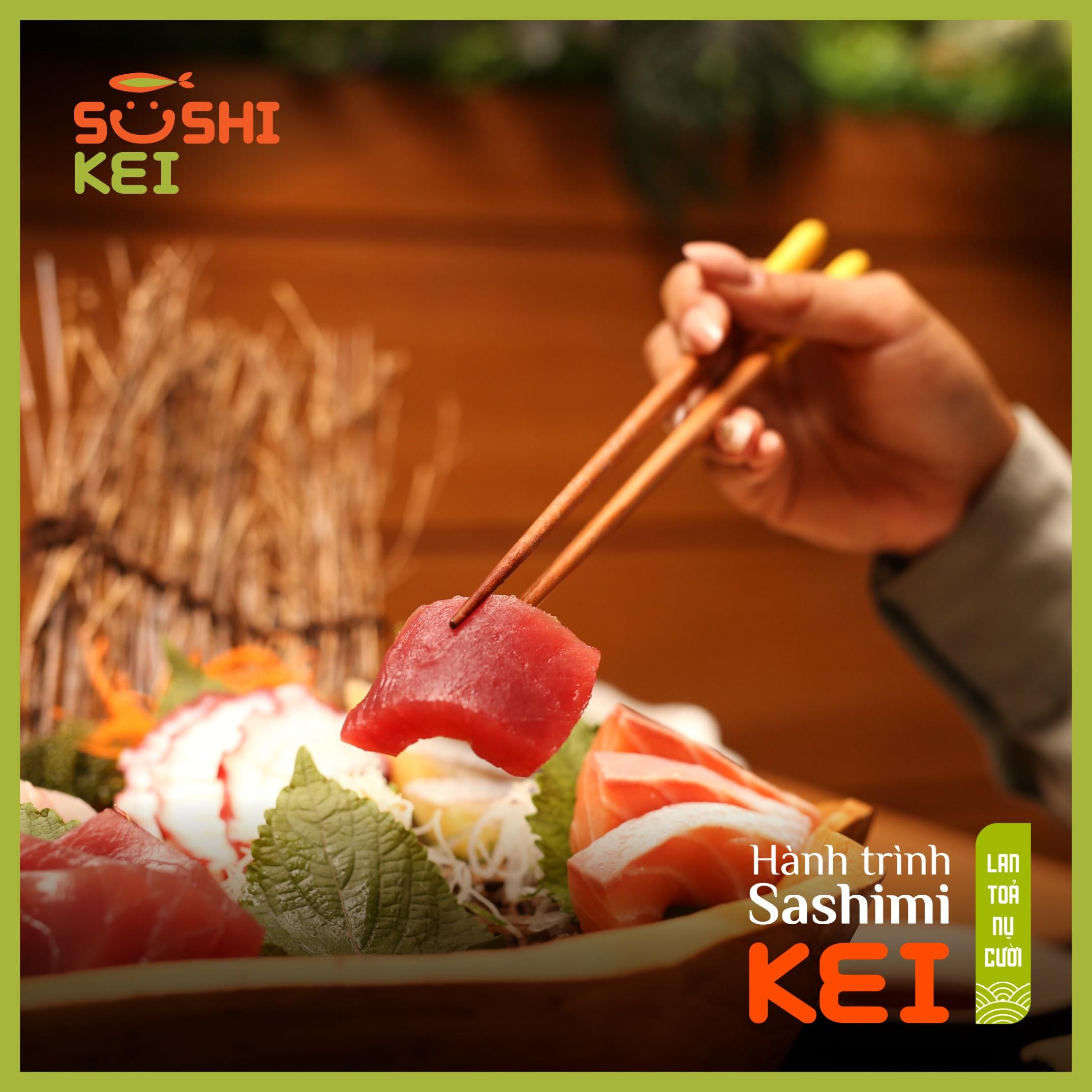 Kinh ngạc với cá ngừ khổng lồ 80kg cùng màn trình diễn chế biến chuyên nghiệp ngay tại nhà hàng Nhật - Sushi Kei - Ảnh 6.