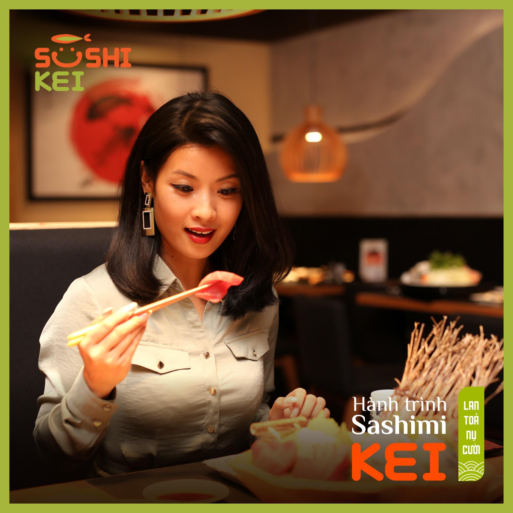 Kinh ngạc với cá ngừ khổng lồ 80kg cùng màn trình diễn chế biến chuyên nghiệp ngay tại nhà hàng Nhật - Sushi Kei - Ảnh 7.