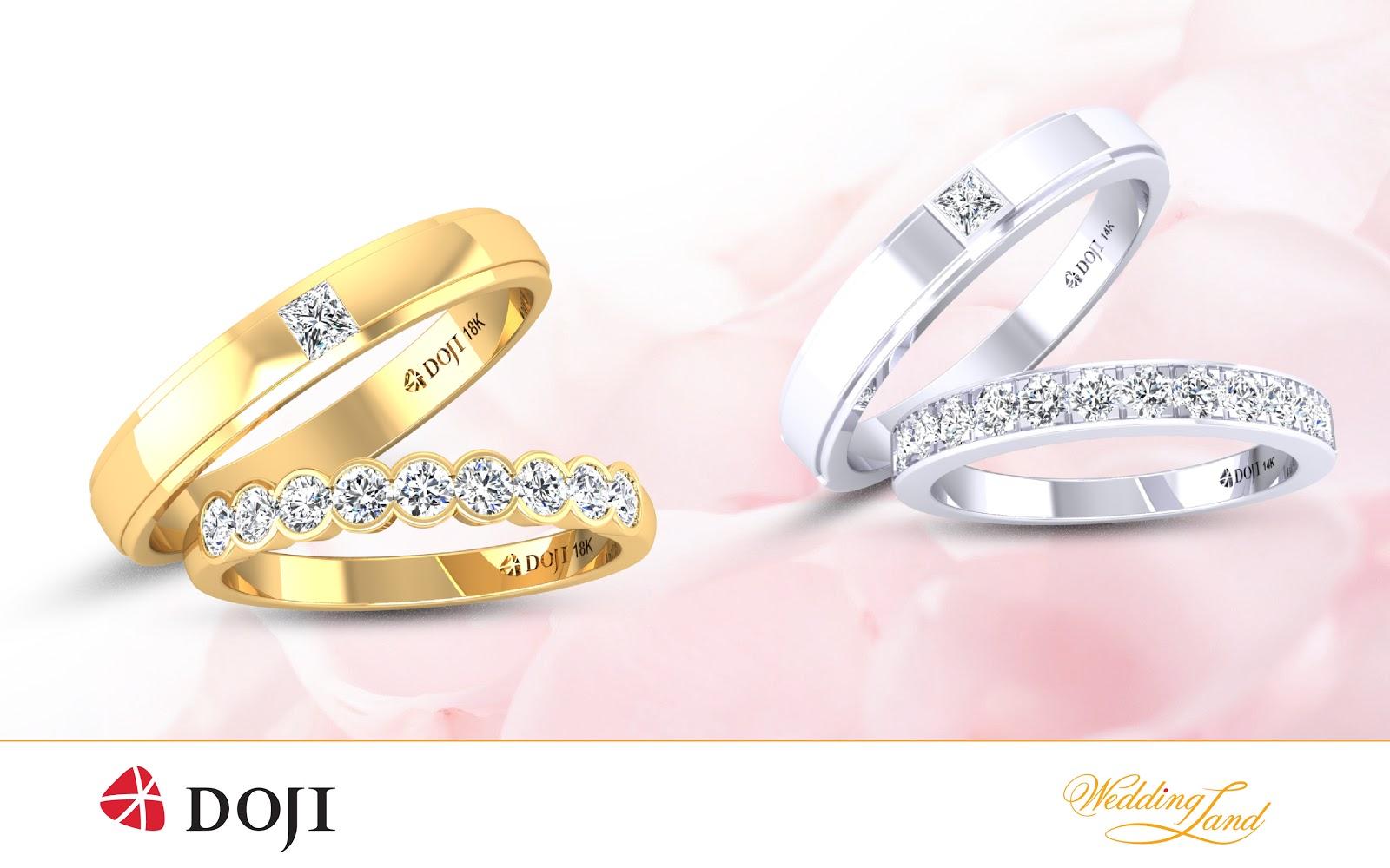 Nhẫn cưới DOJI, giảm giá sâu, trúng thưởng lớn - Ảnh 1.