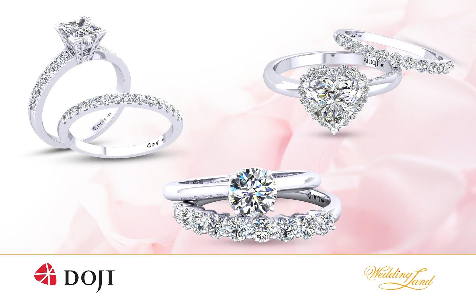 Nhẫn cưới DOJI, giảm giá sâu, trúng thưởng lớn - Ảnh 2.