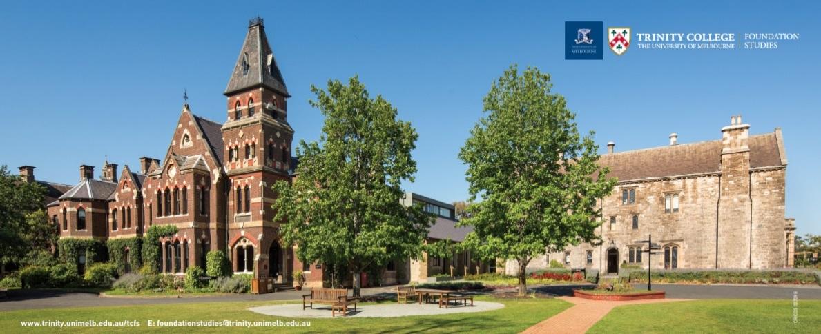 Trinity College – trực thuộc Đại học Melbourne