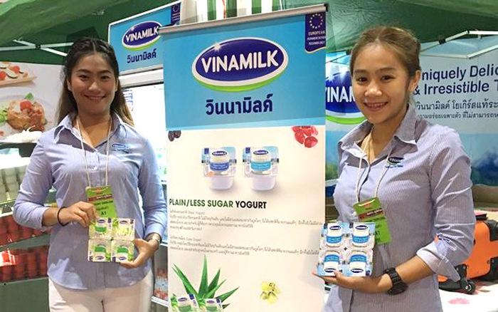 Sản phẩm sữa các loại của Vinamilk ra mắt người tiêu dùng tại Hội chợ nhập khẩu quốc tế Trung Quốc - Ảnh 2.