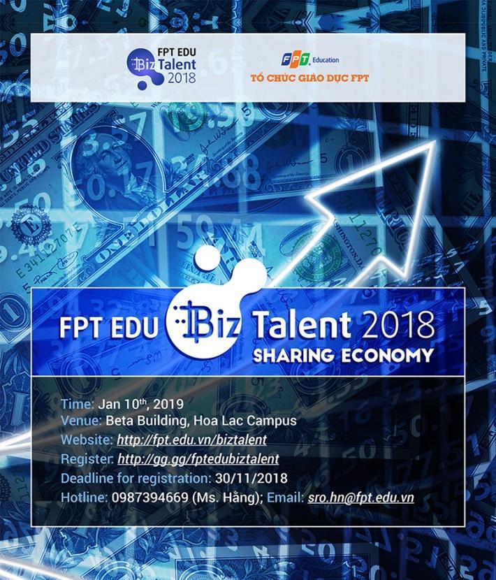 FPT Edu tổ chức thi Tài năng kinh doanh cho 33.000 học sinh, sinh viên - Ảnh 1.