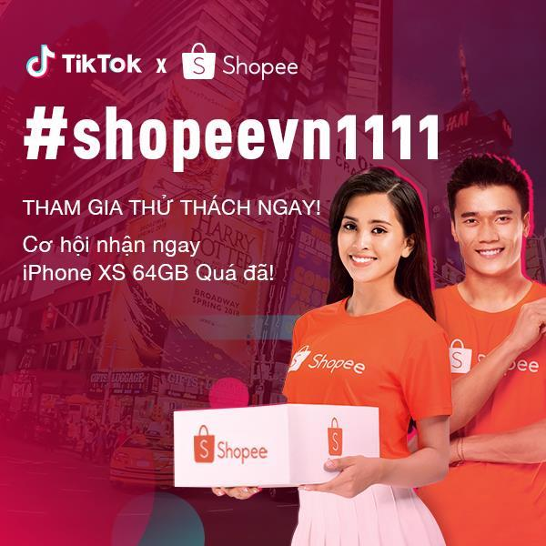 Cư dân mạng sục sôi săn iPhone XS với thử thách mới từ Tik Tok và Shopee - Ảnh 6.