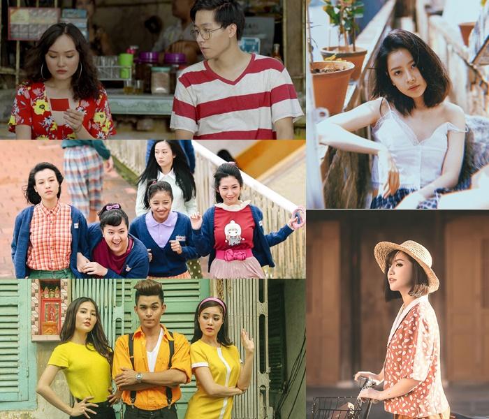 """Từ phim ảnh, MV đến outfits có vẻ như style """"sống lại thời đó"""" chưa bao giờ hết hot trong showbiz lẫn đời sống giới trẻ Việt..."""