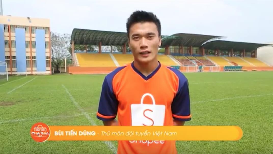 """Ra quân thắng đậm ở AFF Cup, dàn cầu thủ Việt cực phẩm gửi lời chúc đến """"Ngày hội mua sắm 4.0"""" của Shopee - Ảnh 2."""