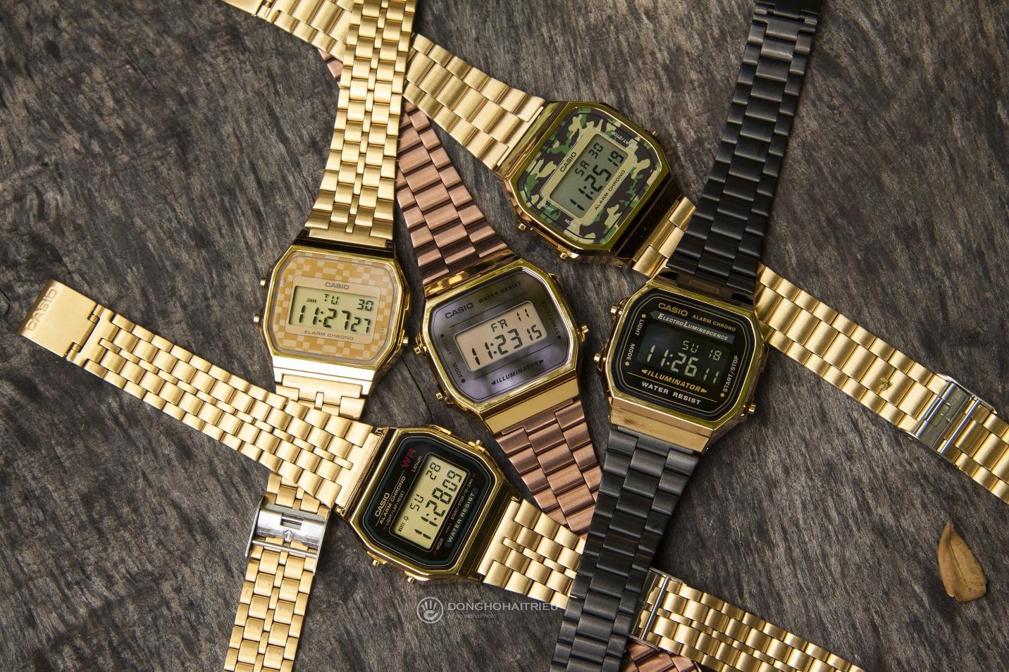 Trọn BST đồng hồ Casio Gold và Rose Gold đang hot xình xịch - Ảnh 1.