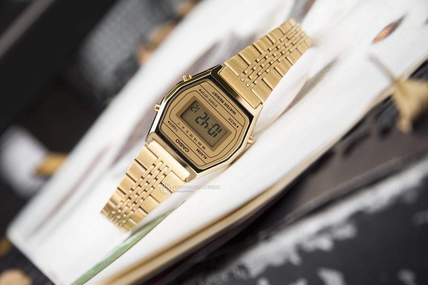 Trọn BST đồng hồ Casio Gold và Rose Gold đang hot xình xịch - Ảnh 2.
