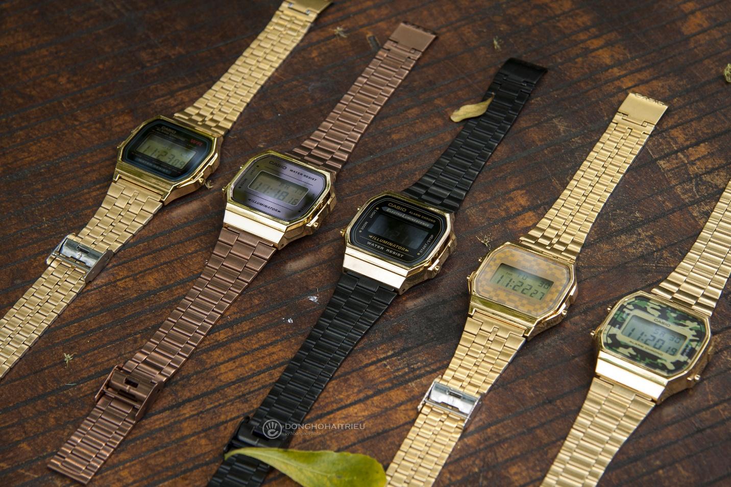 Trọn BST đồng hồ Casio Gold và Rose Gold đang hot xình xịch - Ảnh 3.