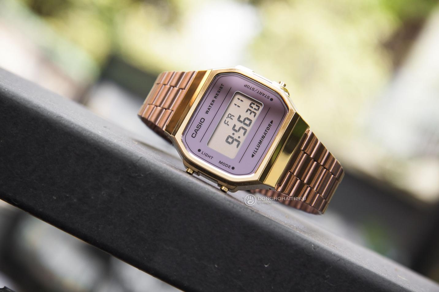 Trọn BST đồng hồ Casio Gold và Rose Gold đang hot xình xịch - Ảnh 4.