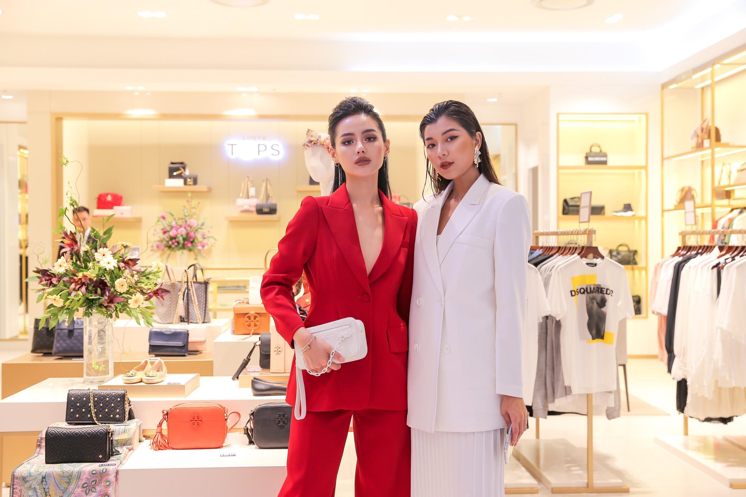 """Cặp đôi The Face Đồng Ánh Quỳnh, Khánh Linh hội ngộ, hoá thân thành đôi """"soái tỷ rủ nhau đi mua sắm - Ảnh 1."""