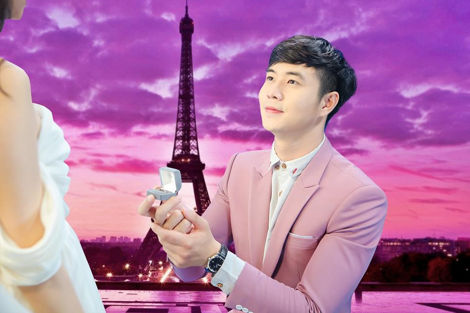 Tháp Eiffel là địa điểm hoàn hảo để trao tặng nàng chiếc nhẫn đính hôn.