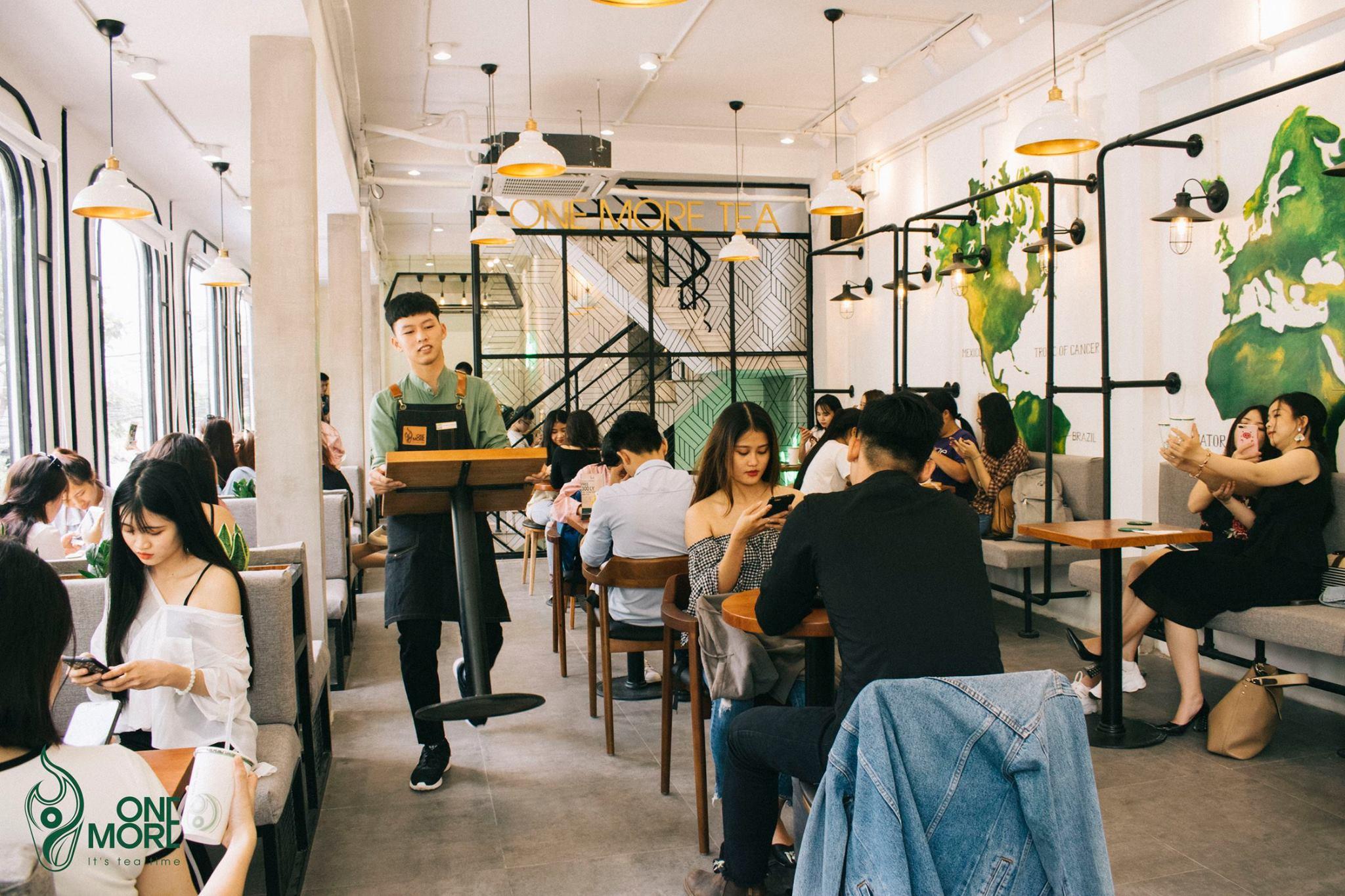 Giới trẻ Sài thành háo hức trải nghiệm trào lưu uống trà sữa One More Tea kiểu bartender - Ảnh 8.