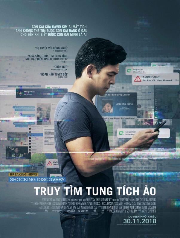 Searching – Tác phẩm xuất sắc nhận cơn mưa lời khen từ giới phê bình toàn cầu - Ảnh 1.