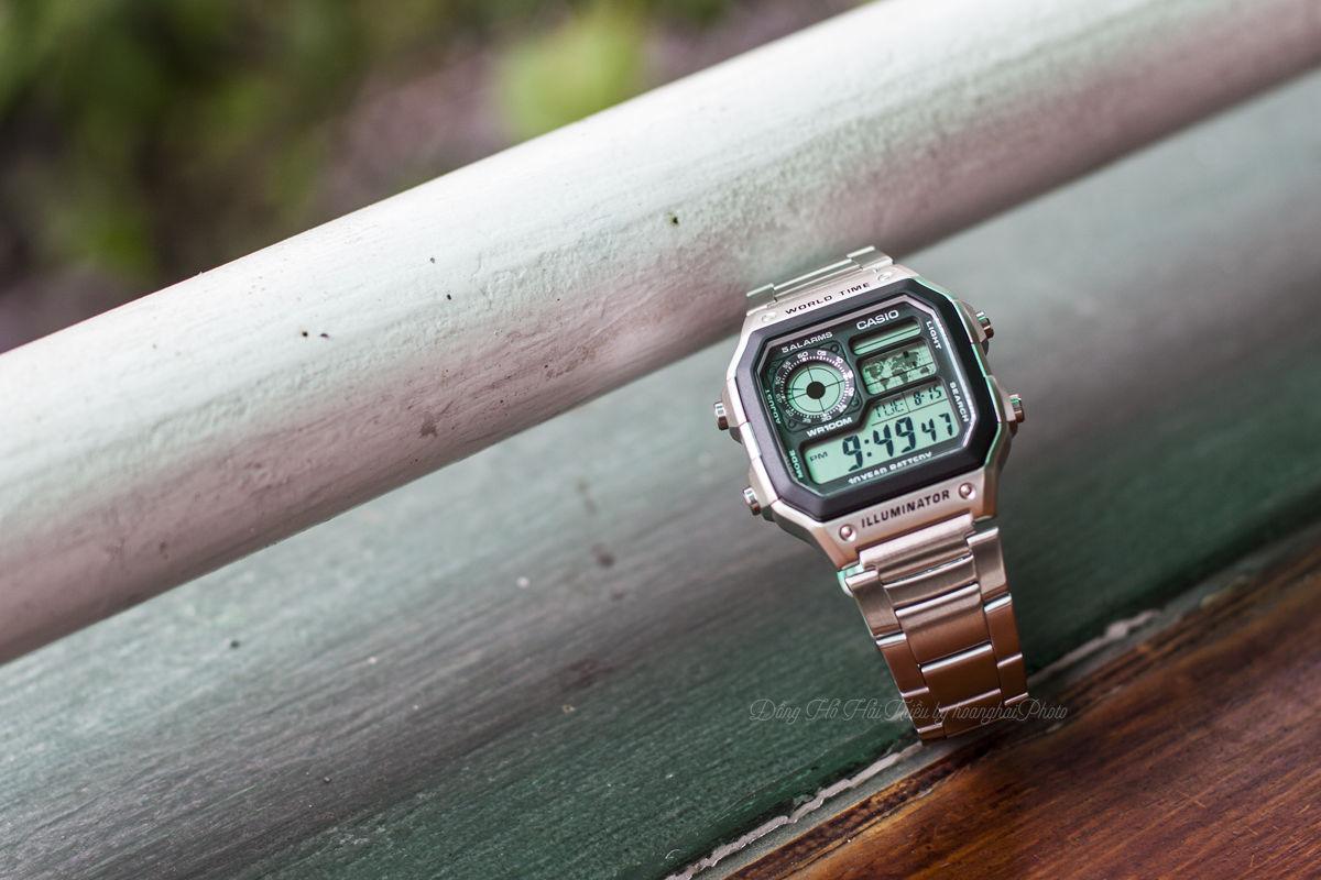 5 sự thật chưa từng được tiết lộ về dòng đồng hồ Casio AE1200WHD - Ảnh 3.