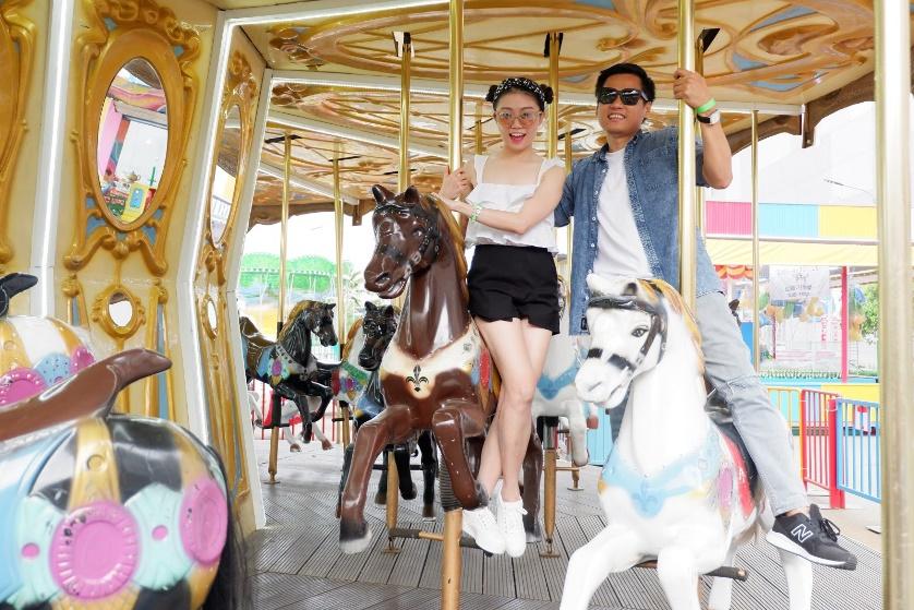 Điểm vui chơi mới ở Sài Gòn: Công viên giải trí Just Kidding - Ảnh 1.