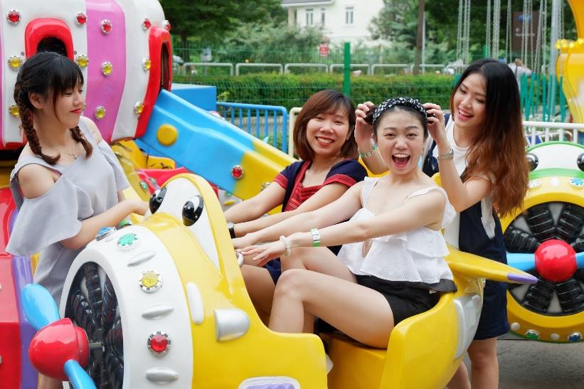 Điểm vui chơi mới ở Sài Gòn: Công viên giải trí Just Kidding - Ảnh 2.