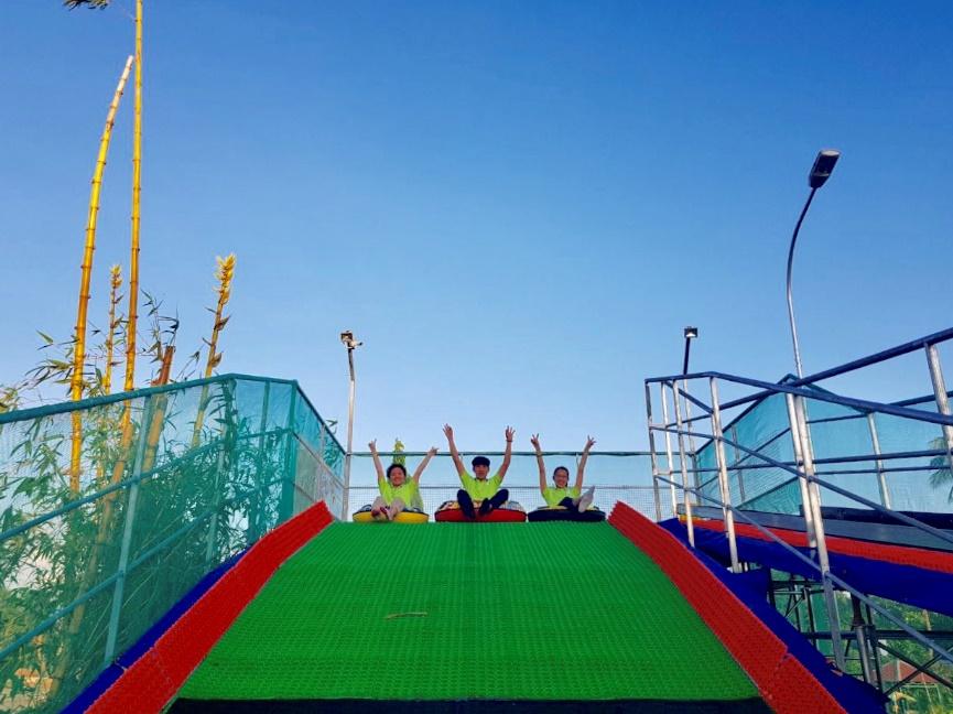 Điểm vui chơi mới ở Sài Gòn: Công viên giải trí Just Kidding - Ảnh 3.