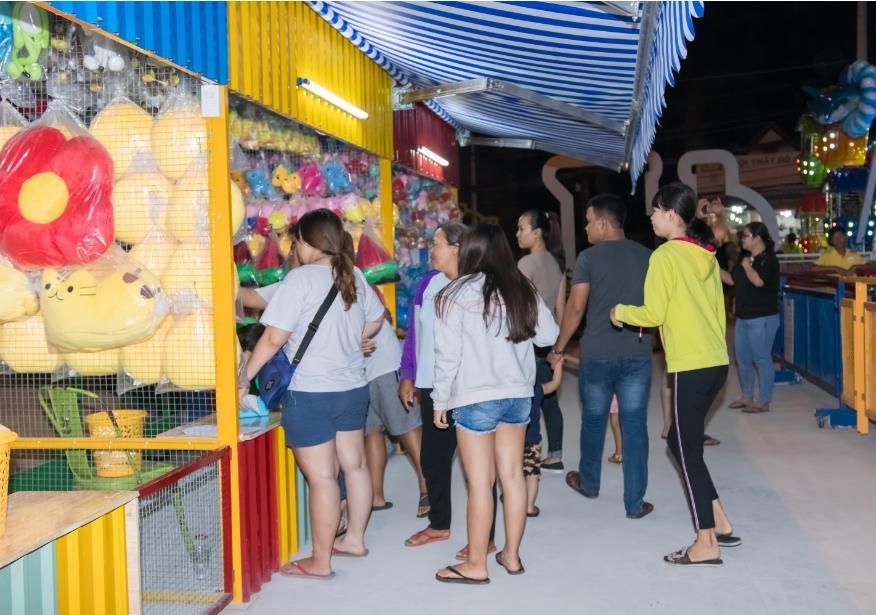 Điểm vui chơi mới ở Sài Gòn: Công viên giải trí Just Kidding - Ảnh 4.