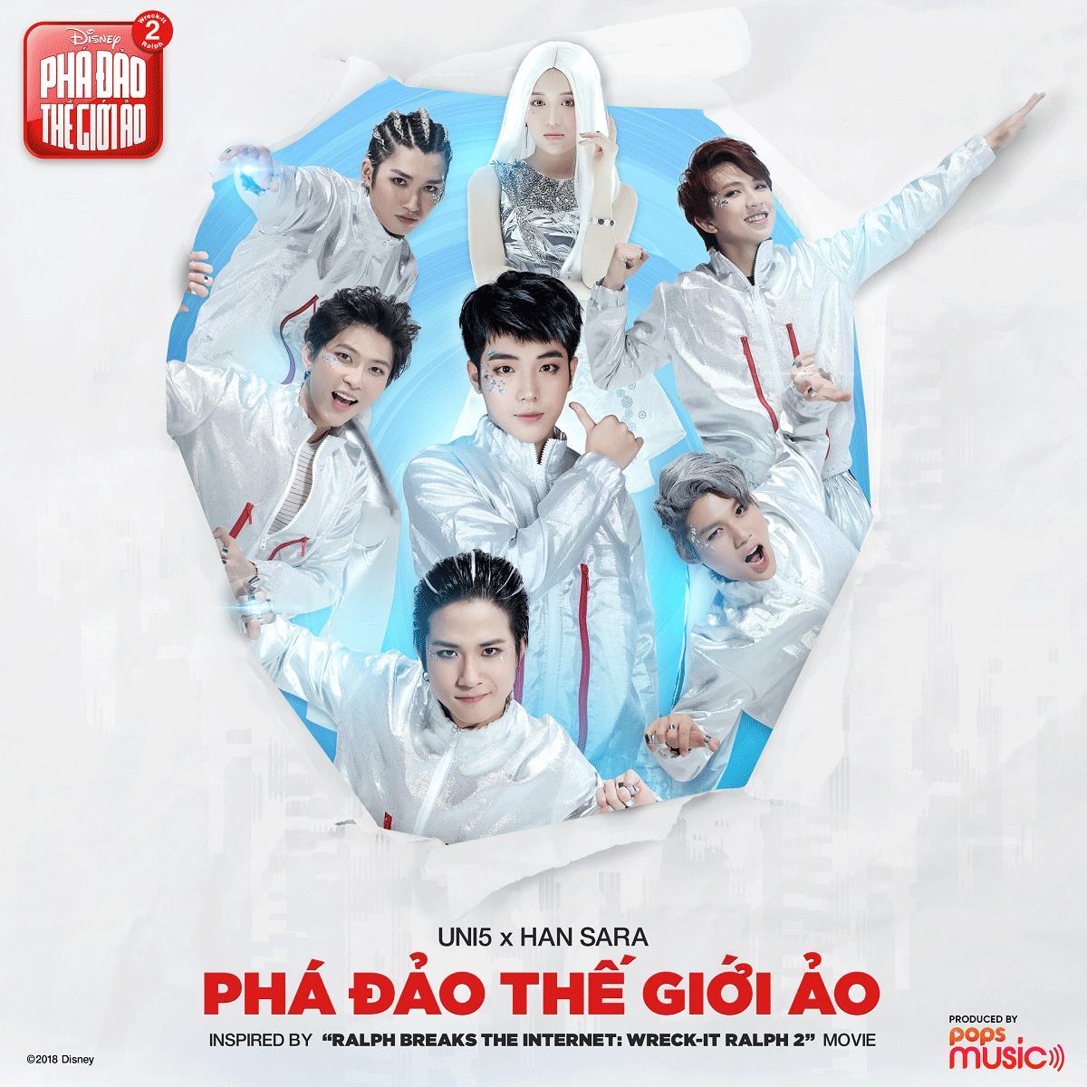 Hơn 6 triệu views, Han Sara và Uni5 khiến fan nức lòng với MV Phá Đảo Thế Giới Ảo - Ảnh 1.
