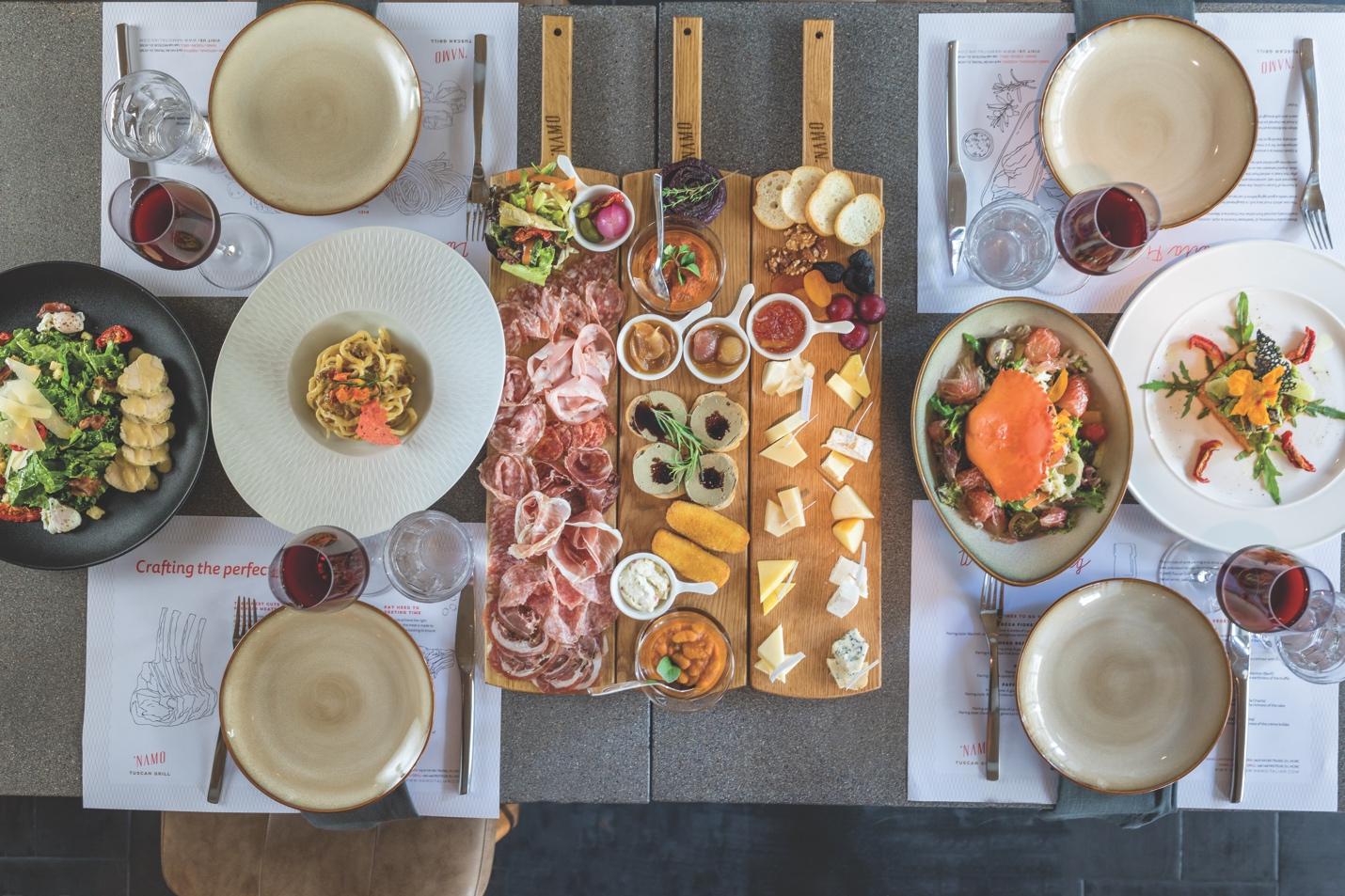 'NAMO Tuscan Grill và hành trình mang tinh hoa ẩm thực Ý tới Sài Gòn - Ảnh 2.