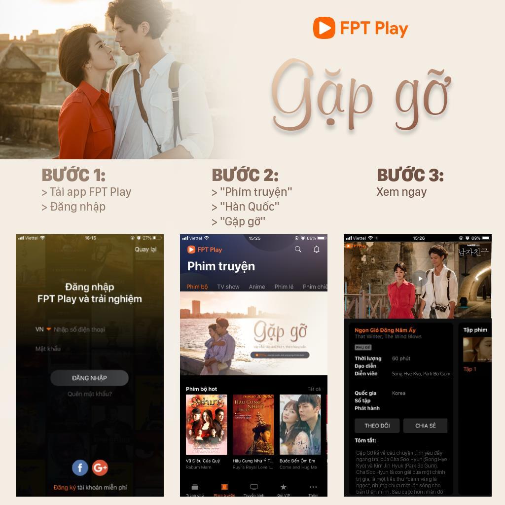 Encounter (Gặp Gỡ) sẽ phát sóng ở Việt Nam trên FPT Play.