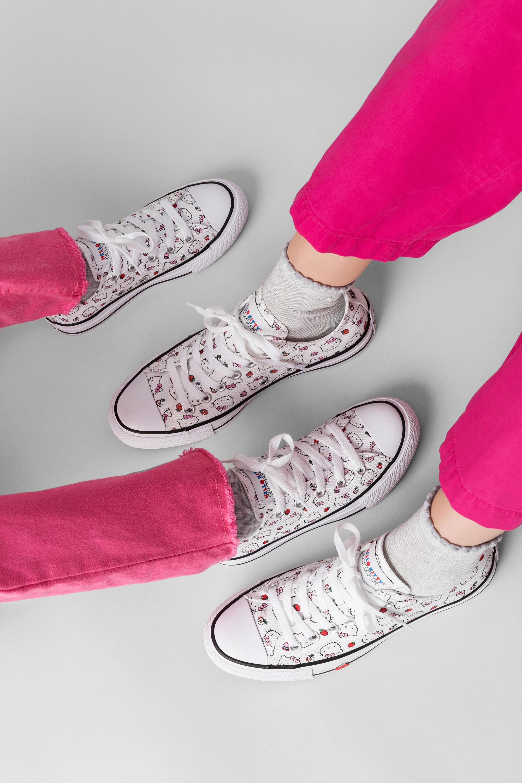 Chiều fan Hello Kitty hết mực, Converse ra mắt lần 2 phiên bản giới hạn với bộ Collab - Converse x Hello Kitty - Ảnh 9.